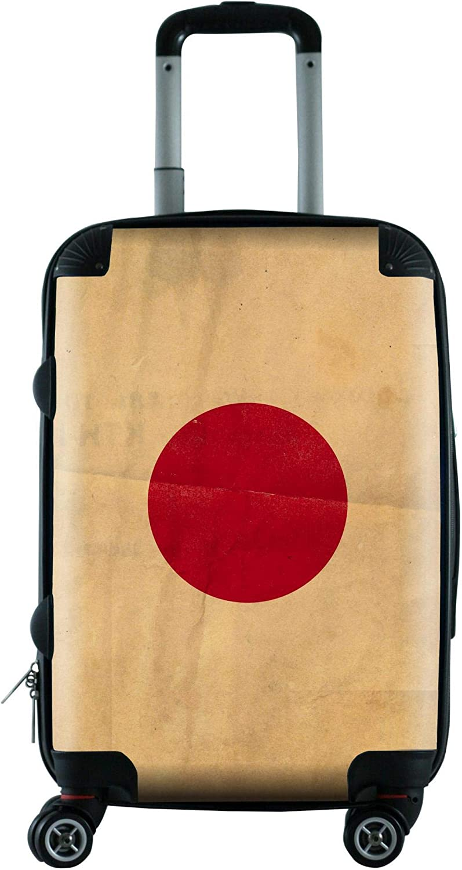 Luggage Pros Vintage Flag Carry-On Bag