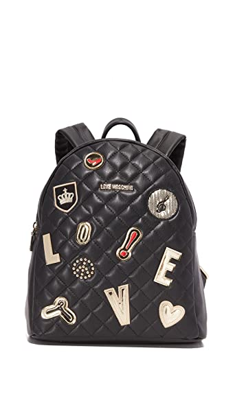 Zaino E It Amazon Nero Love B5ozwawq Moschino Borse Scarpe iTOZkXuP