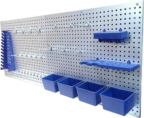 OFAY Werkzeuglochwand Aus Metall Hakenset Werkzeug-Wand Loch-Wand F/ür Werkstatt Haken F/ür SB-Packung Werkzeugwandhaken F/ünf Pack,Ring Hook,M