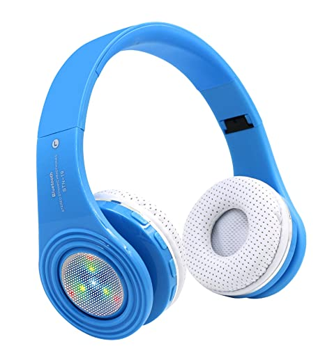 Amazon.com: Auriculares con Bluetooth para niños ...