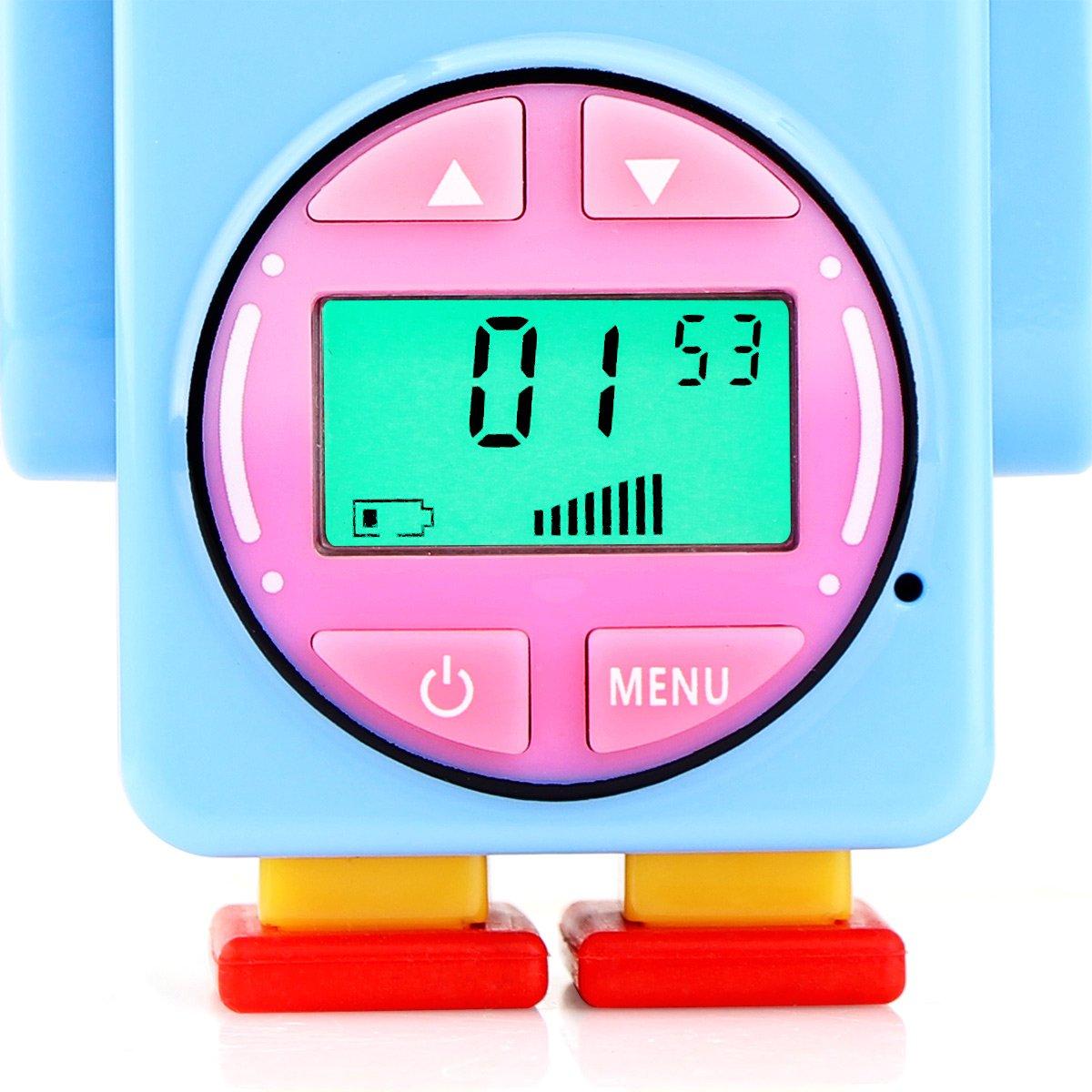 Retevis RT36 Kids Walkie Talkies Rechargeable Battery USB Charging Flashlight Long Range Crystal Sound License Free Walkie Talkies for Kids (Blue,2 Pack) by Retevis (Image #10)