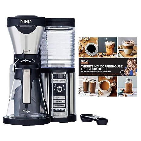 Amazon.com: Ninja CF080 Coffee Bar Auto-IQ 1 Touch Maker ...