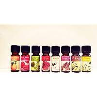 Set de 8 aceites esenciales 100% puros. Rosa