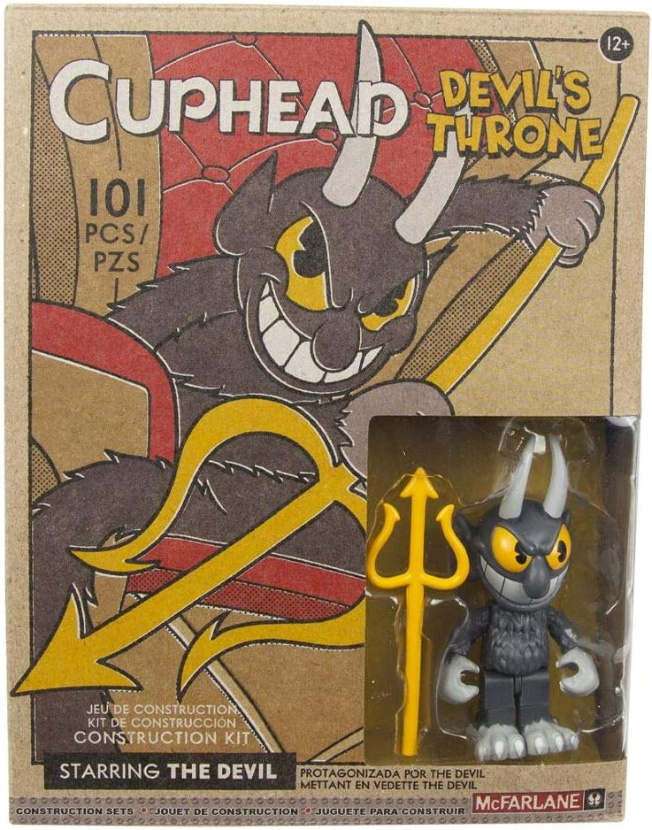 McFarlane Toys Cuphead Devils Throne Small Construction Set Kid Toy Gift