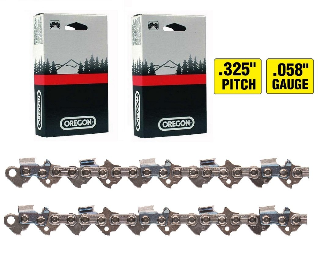 (Ship from USA) 2 Pack NEW Oregon 21LPX066G 16 Chainsaw Chain .325 .058 66DL /ITEM NO#8Y-IFW81854237282 Tousikaty