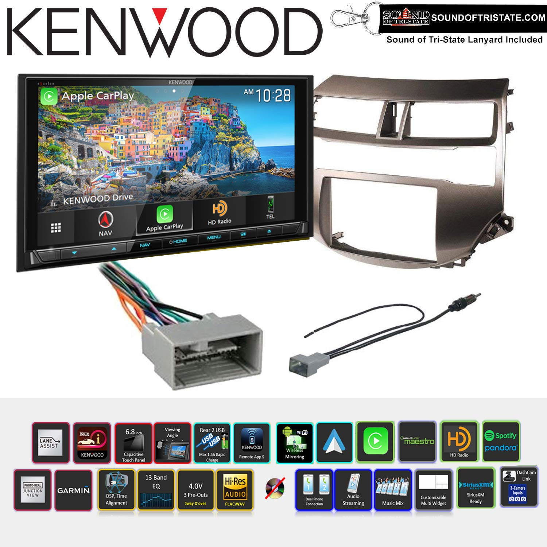 Amazon com: Kenwood Excelon DNX996XR 6 8