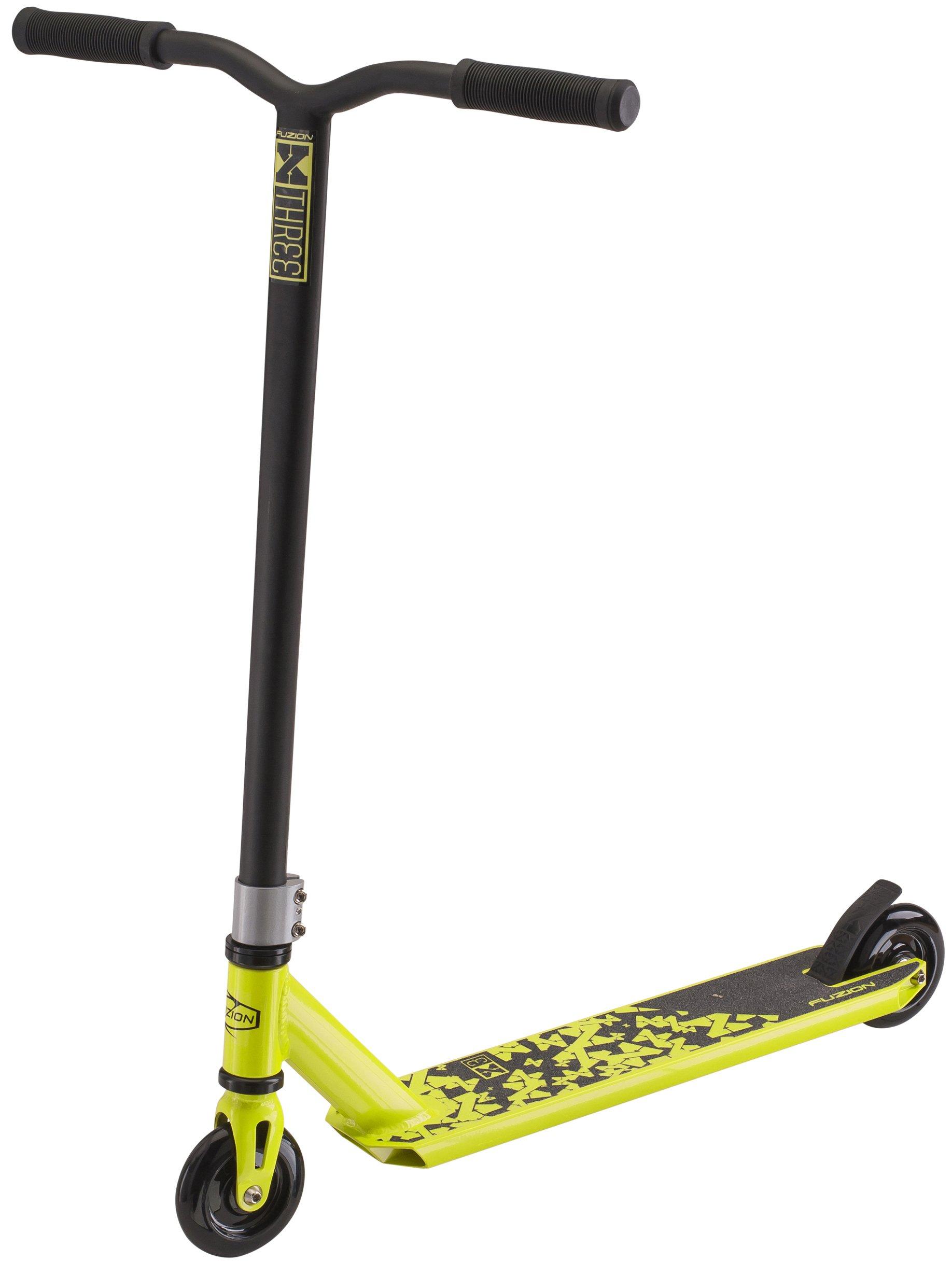 Fuzion X-3 Pro Scooter (2018 Neon)