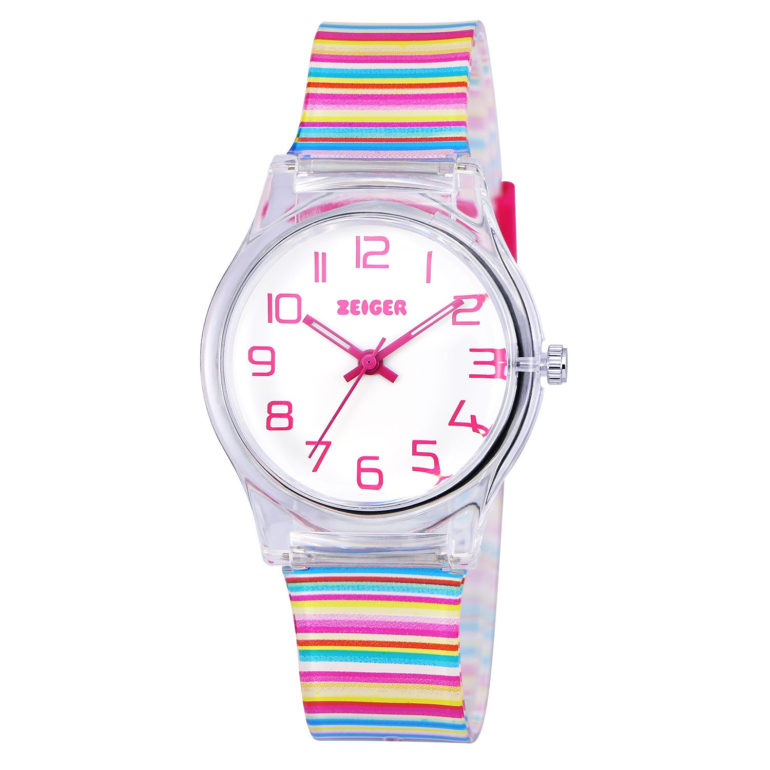 Zeiger Kids Watches Sports Watch for Girls and Boys Lovely Student ...