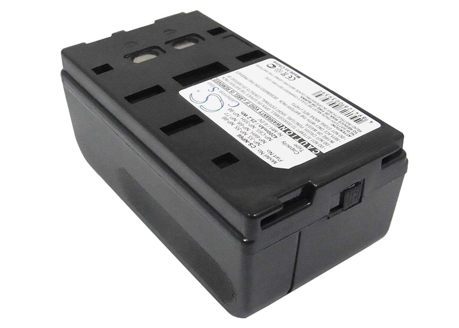 Cameron Sino Rechargeble Battery for Sony ccd-fx300e ( 4200 mAh )   B01DNNMGS4