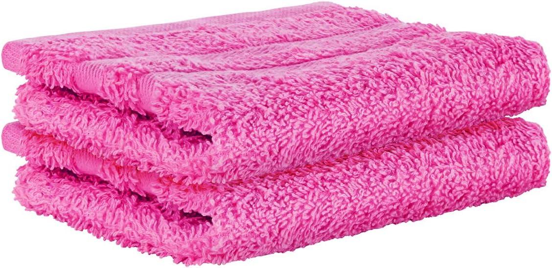 StickandShine 2er Set Hand Premium Frottee Waschhandschuh 15x21 cm in pink in 500g//m/² aus 100/% Baumwolle /Öko-TEX Standard 100 Materialien