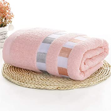 DYEWD Toalla Absorbente y de Secado rápido de algodón de Moda, Toalla de baño de