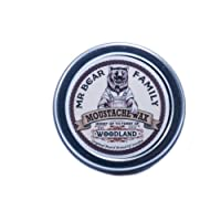 Mr. Bear Family Moustache Wax – Woodland 30 ml