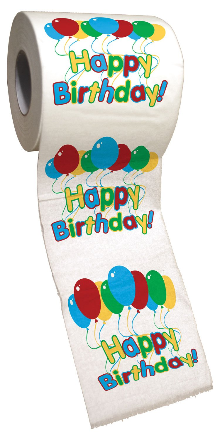 Big Mouth Toys Happy Birthday Toilet Paper