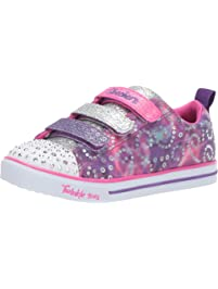Skechers Girls Sparkle LITE-Rainbow Brights Sneakers