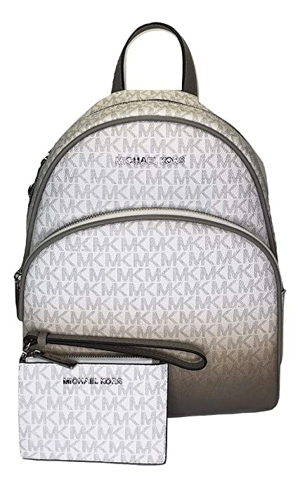 MICHAEL Michael Kors Abbey MD Backpack bundled with Coin ...