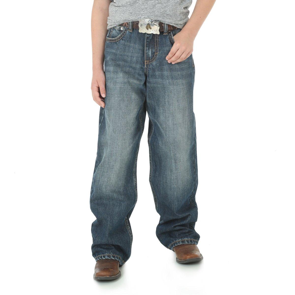 Wrangler Boys' Big 20X Extreme Relaxed Straight Leg Jean, Wells, 12 Husky