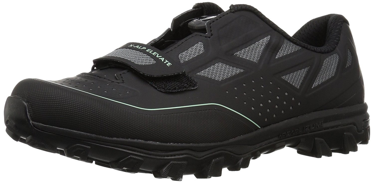 Pearl iZUMi Women's W X-ALP Elevate Cycling Shoe Black, 37.5 M EU (6.5 US)