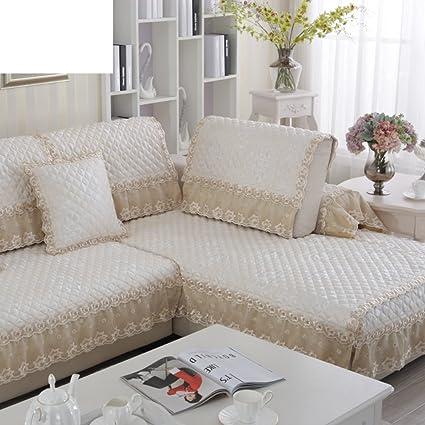 Amazon.com: European slipcover sofa,Anti-slip sofa ...