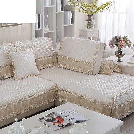 Sofa slipcover europeo,Fundas sofá antideslizante Tela ...