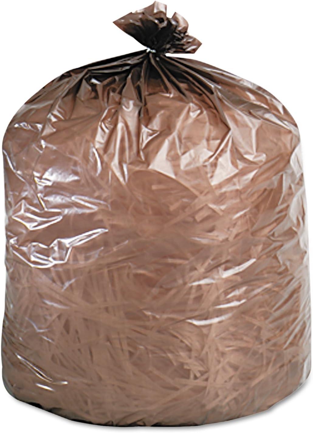 Biodegradable Trash Bags,39 Gal,1.10 ml,33