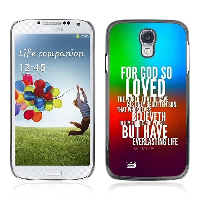 iKiki-Tech Estuche rígido para Samsung Galaxy S4 - para dios ...