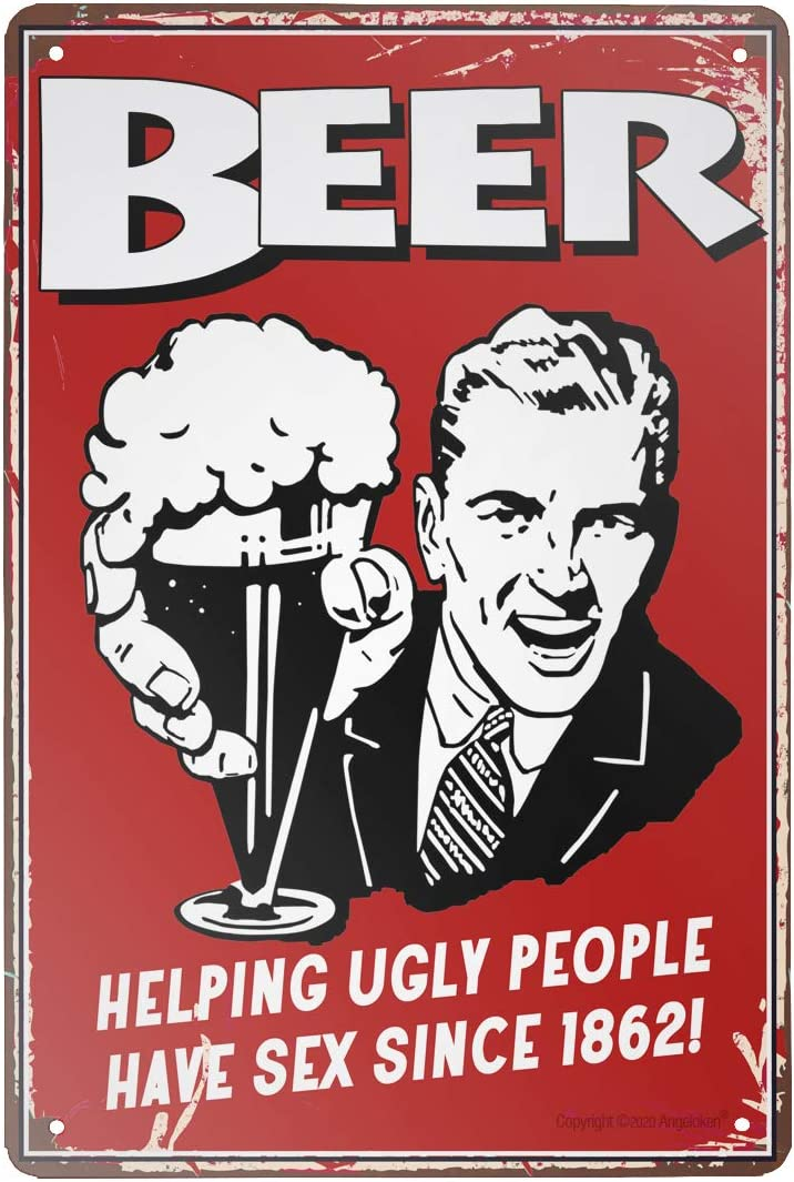 Vintage Style Tin Sign-Helping Ugly People-Bar Pub Garage Hotel Diner Cafe Home Iron Mesh Farm Supermarket Mall Forest Garden Door Wall Decor Art Tin Signs, 8