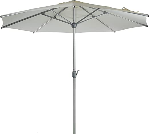 SORARA Apple Parasol Sombrilla Jardin, Blanco, Ø 300 cm / 3m: Amazon.es: Jardín