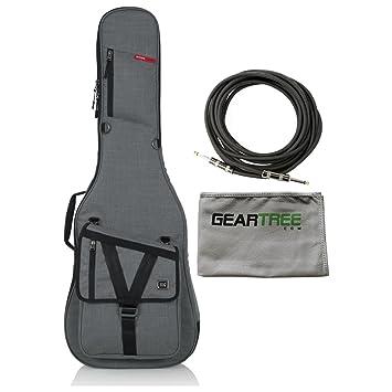 Gator gt-electric-g gris bolsa de transporte Funda para guitarra ...