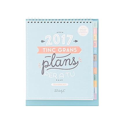 Mr. Wonderful Tengo grandes planes para ti - Calendario sobremesa ...