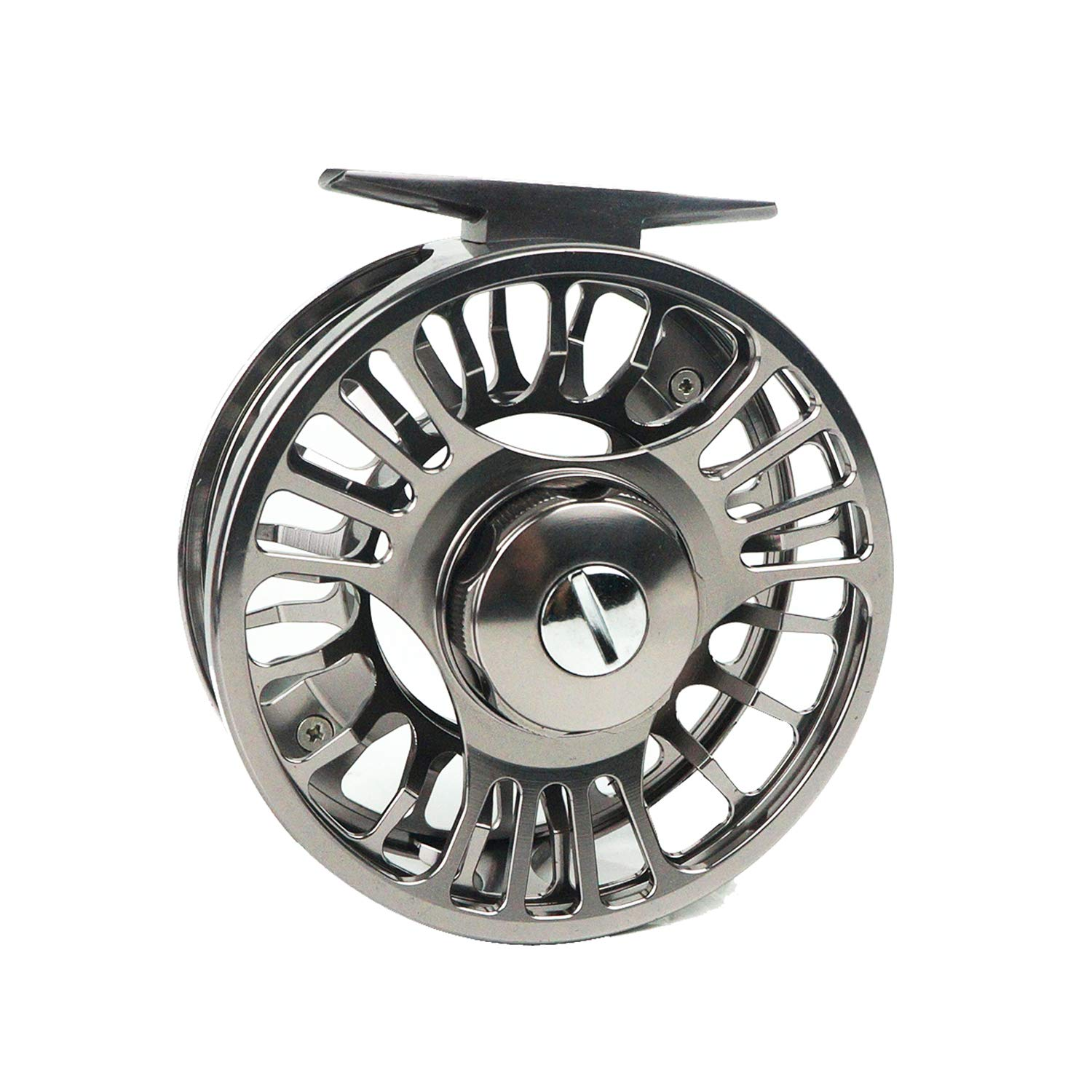 Riverruns Z Fly Fishing Reel Super Light CNC Machined Second Generation Sealed Carbon Disc Super Larger Arbor 3 5, 5 7, 7 9 Ideal Both Fresh Water Saltwater Fly Fishing