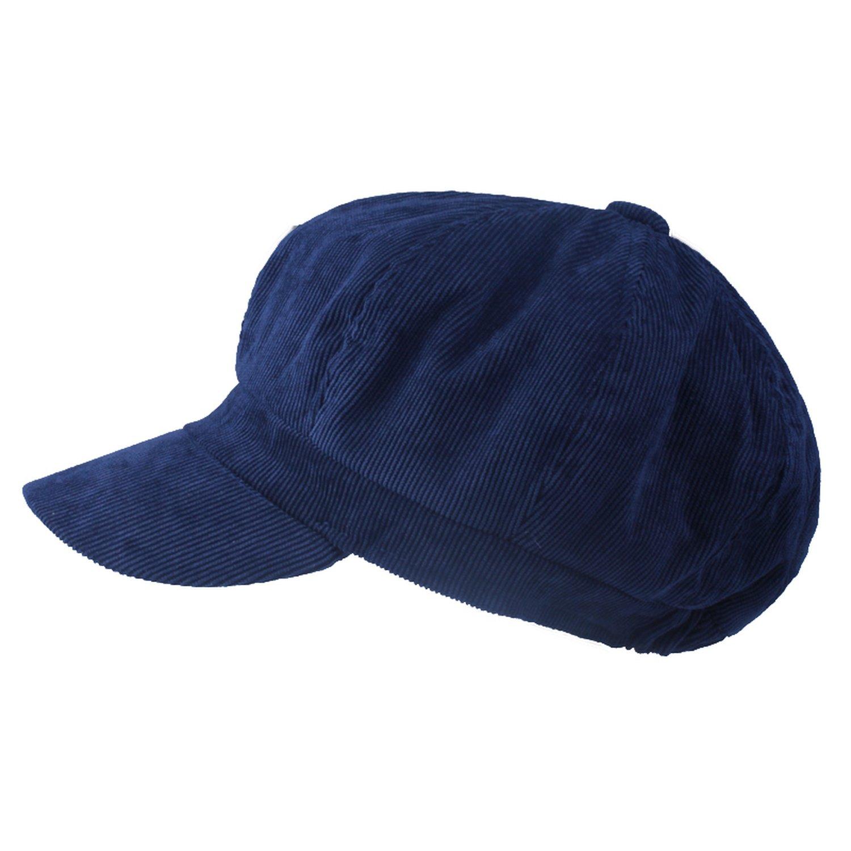 Rzxkad Artist Corduroy Women Octagonal Hats for Women Cap Fashion Berets Solid Colors Casual Lady caps