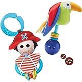Yookidoo Pirate Play Set 40118 - Juego pirata y loro [Importado]