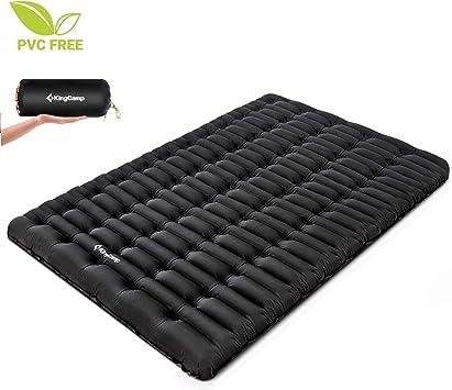 Amazon.com: KingCamp - Colchón de aire para dormir ...