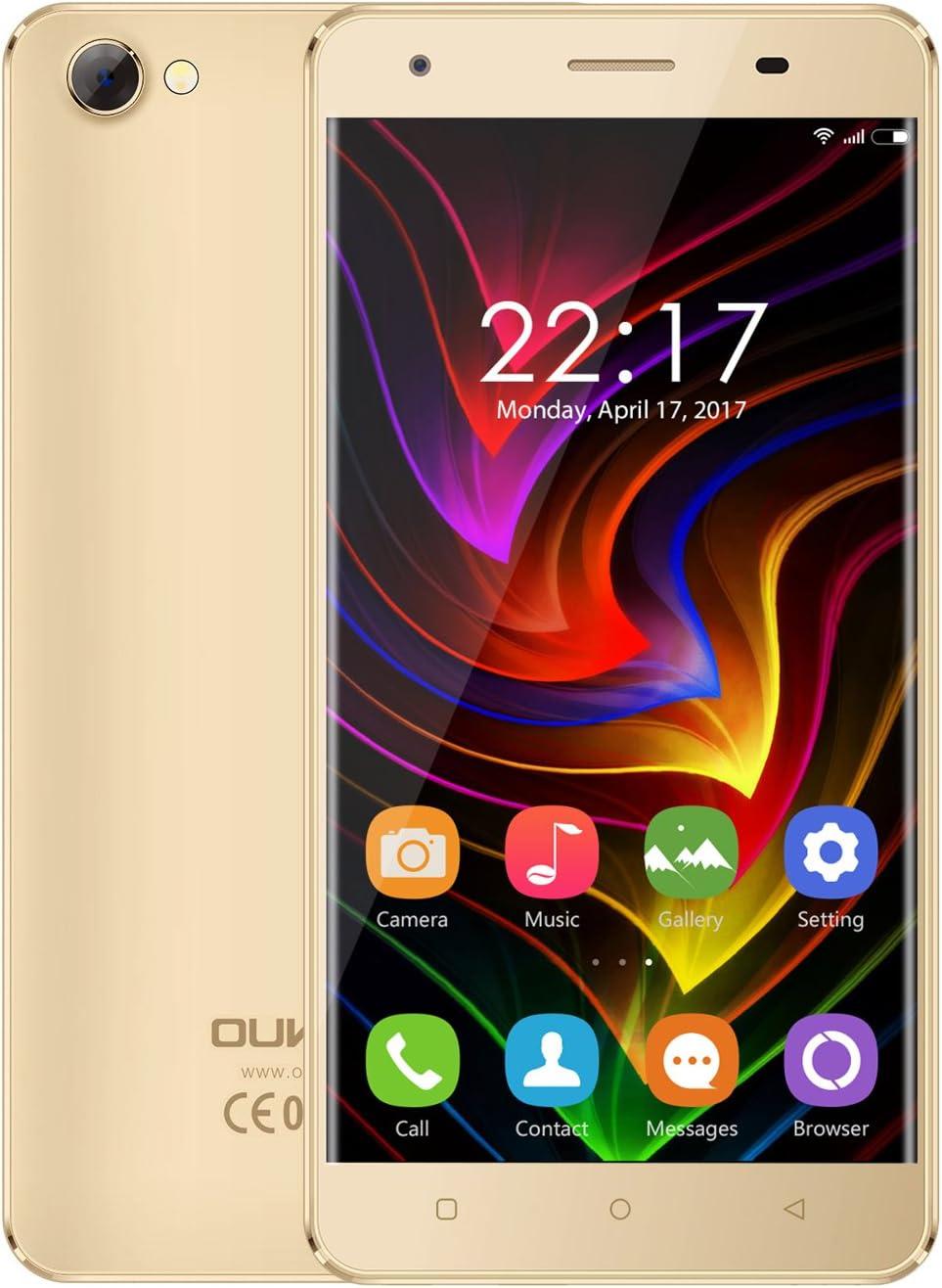 OUKITEL C5 - Android 7.0 3G 5 pulgadas Smartphone Marco de metal ...