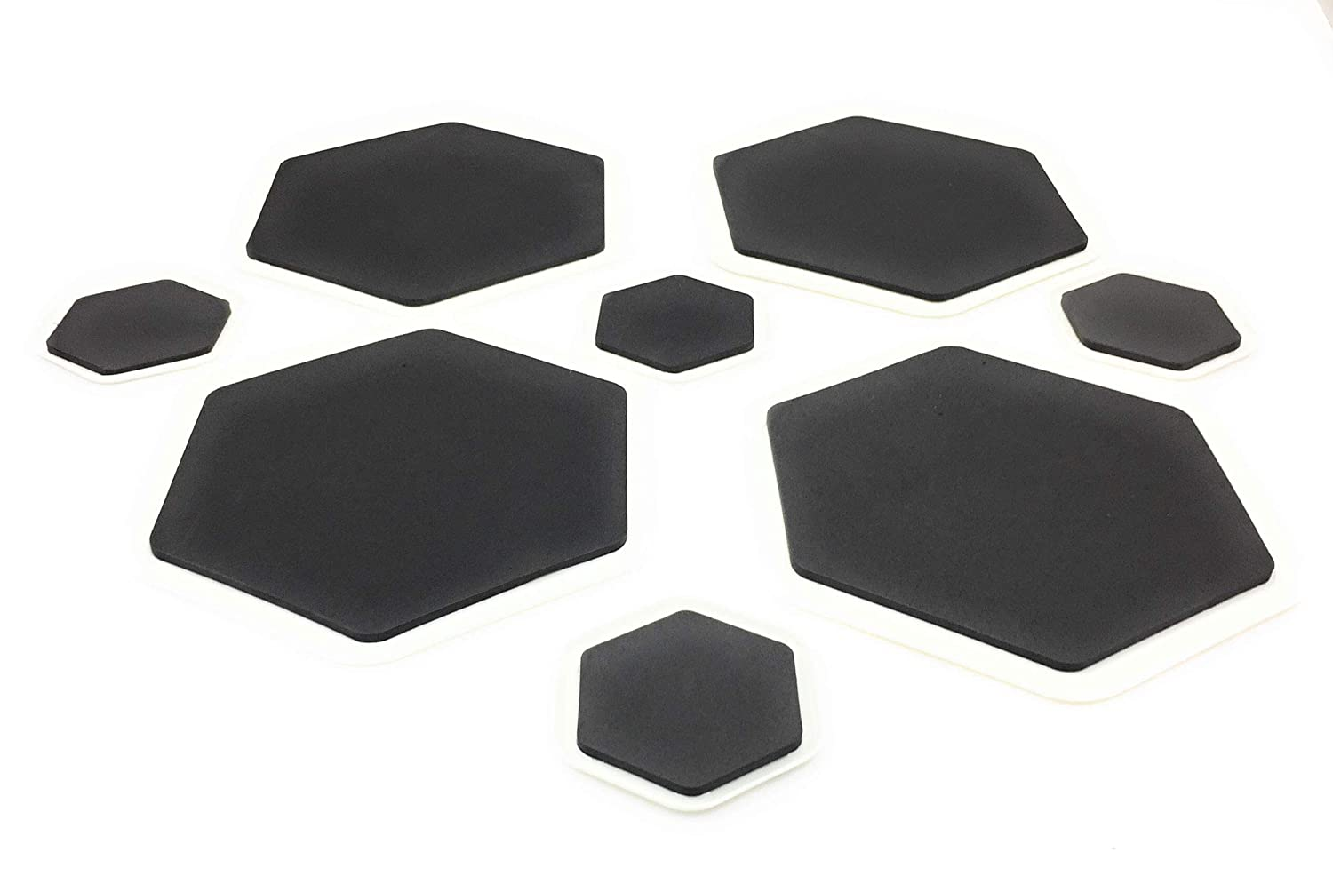 Furniture Sliders Set of 8 Moving Pads Gliders Help Move Desks Dressers Refrigerators Couches Chairs Appliances with these Mover Coaster Discs over Hardwood Tiled Carpeted Floors by Perfect Life Ideas