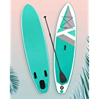 【Limited Time Promotion】 SUP Inflatable Stand Up Paddle Board Non-Slip Paddle Board with 10'30''6'' Premium Paddle Board…