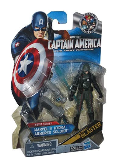 Captain America Movie 4 Inch Series 3 Action Figure #12 Marvels Hydra Armored Soldier