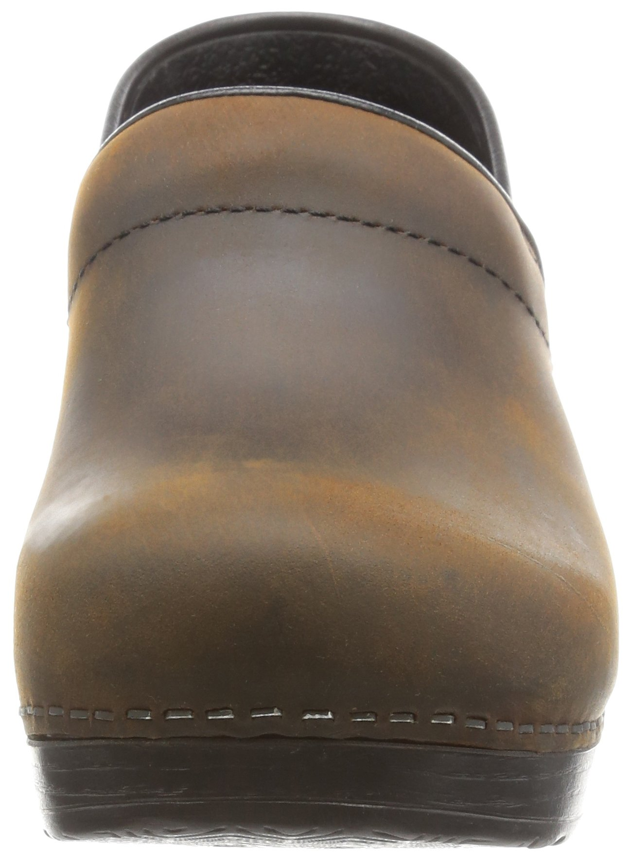Dansko Women's Professional Oiled Leather Clog,Antique Brown/Black,35 EU / 4.5-5 B(M) US by Dansko (Image #4)