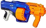 Lança Dardo Nerf Surgefire Hasbro Azul/ Laranja/ Cinza
