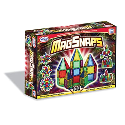 Popular Playthings MagSnaps Set (100 pieces): Toys & Games