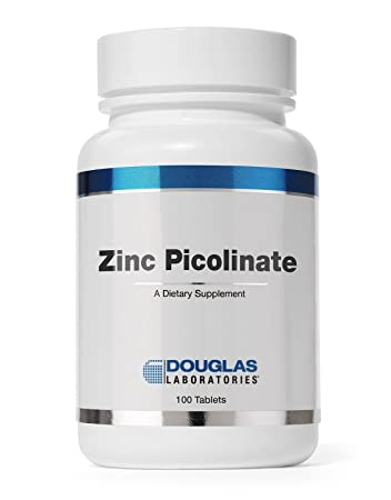 Amazon Com Douglas Laboratories Zinc Picolinate Tablets 20 Mg
