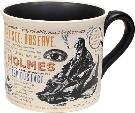 com sherlock holmes coffee mug holmes quotes rules of
