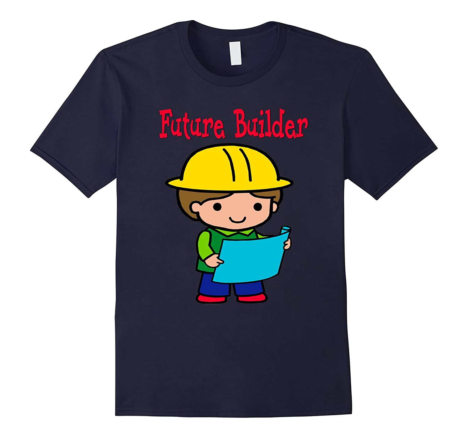 Adorable Future Builder Child's Play Dress Up T-shirt-TH