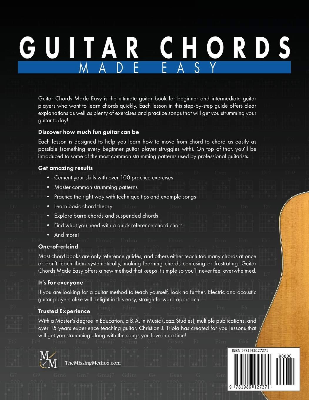 Guitar Chords Made Easy, Level 1 Basic Chords: Simple Steps ...