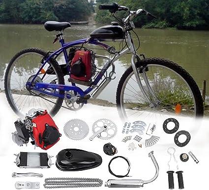 Ambienceo 49 cc 4 del Ciclo de pedal Gasolina Gas motor Kit Motor ...