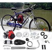 Samger 49cc 4 Stroke Pedal Cycle Petrol Gas Motor Kit Engine Bicycle Conversion Kit for Motorized Bike