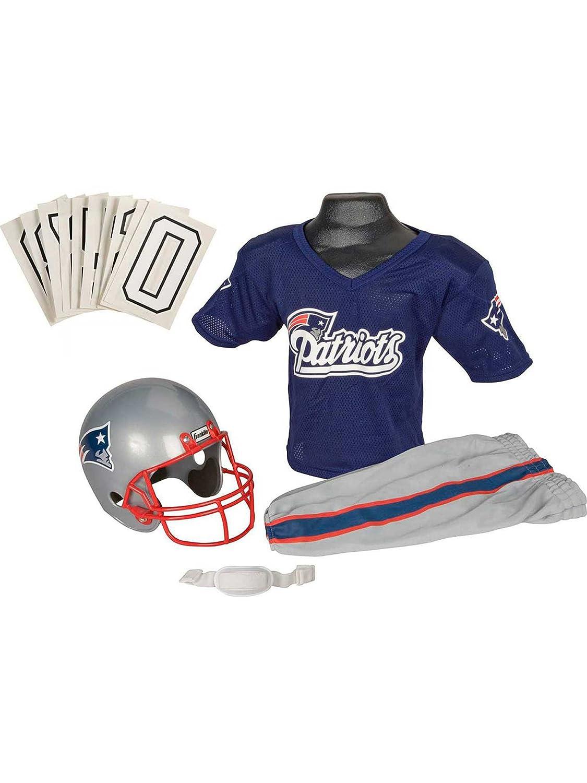 197d50e7 Amazon.com: NFL Patriots Childs Helmet and Uniform Set: Clothing