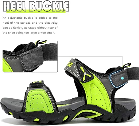 VITIKE Sandales Enfant Chaussure de Sport Sandales Garcon en Plein air Summer Beach Pool Sneakers