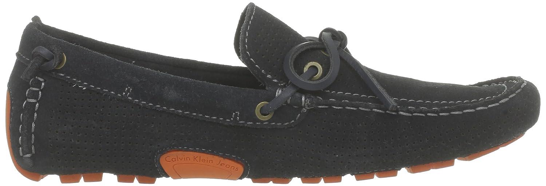 Calvin Klein Jeans - Mocasines de tela para hombre, azul - Blau (MNT), 46: Amazon.es: Zapatos y complementos