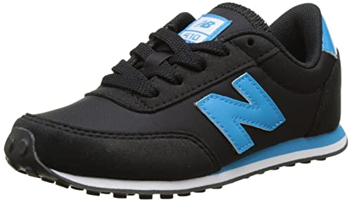New Balance Kl410 M, Baskets mode mixte enfant, Multicolore (Black/red), 33 EU